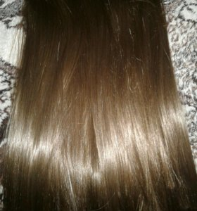 Волосы на заколках длина 40 см