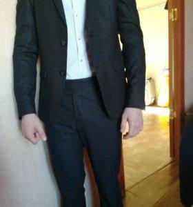 Пиджак мужской+ брюки(костюм)