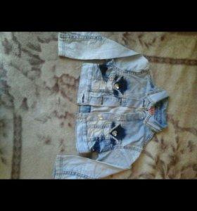 6-7-8 лет Джинсовые костюм