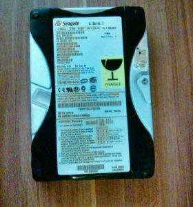 Жесткие диски на 80гб и 10гб(высокоскоростной)
