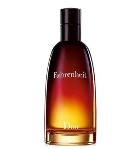Christian Dior Fahrenheit туалетная вода 100 ml.