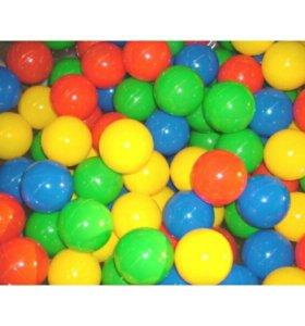 Мячики для сухого бассейна, 7 см., 250 шт.
