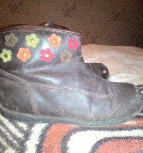 Ботинки для девочки весна