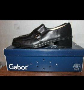 Кожанные туфли фирма Gabor Кожа!