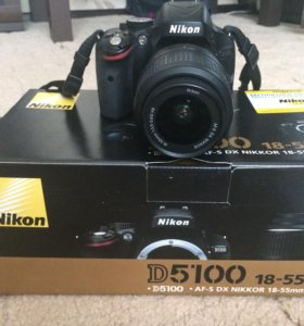 Зеркальная камера Nikon D5100 18-55 VR Kit
