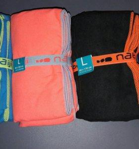Спортивные полотенца из микрофибры 80×130.