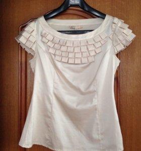 Стильная блузка р. 44 новая
