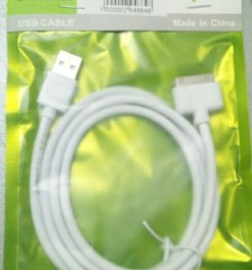 USB кабель на iphone 3G, 3GS, 4, 4S, iPad