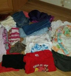 Много вещей для девочки 4-5 лет