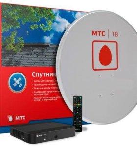 Комплект спутникового ТВ с антенной