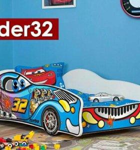 Новая кровать машина