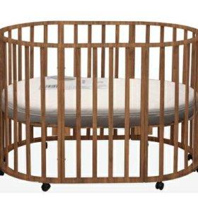 Кровать трансформер детский + 2матраса