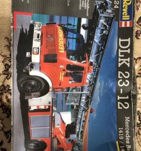 Модель пожарной машины