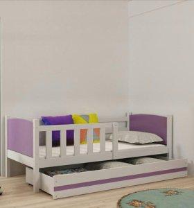 Новая кровать 190х80