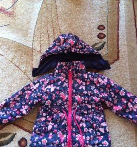 Курточка и комбез для девочки