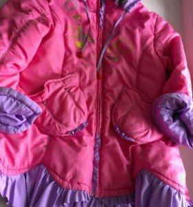 Куртка для девочки, демисезонная