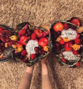 Букет из фруктов для мам