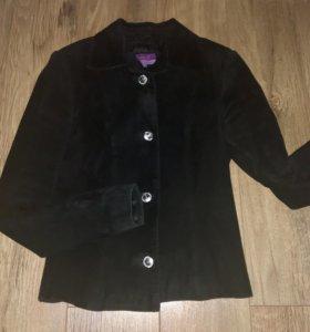 Куртка замша натуральная