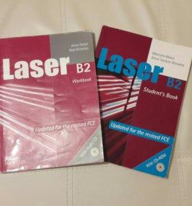 Учебник и рабочая тетрадь Laser B2