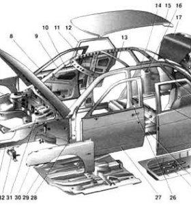 Разбор б/у авто ВАЗ 2110