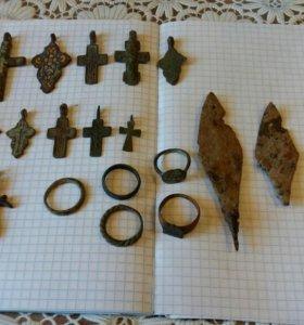 Коллекцию крестиков наконечников стрел