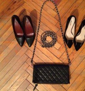 Туфли и сумка-клатч
