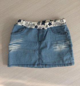 Юбка джинсовая( детская)