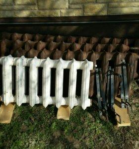 Чугунные радиаторы Б3-140-300 7,10,11,14 секций