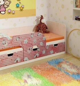 Детская кроватка Минима в наличии