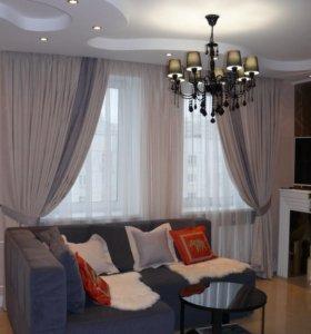 Дизайн и пошив штор, текстиля