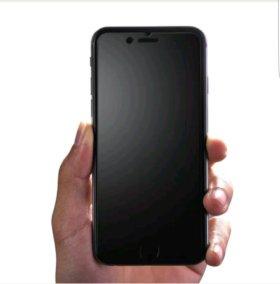 Матовое стекло- броня на iPhone 6/6s plus 7 plus.