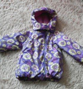 Плащик - куртка на девочку