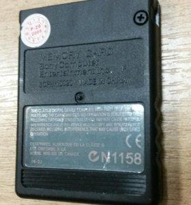 Карта памяти SONY PS2