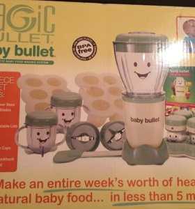 Magic bullet baby blender, cruncher & mixer
