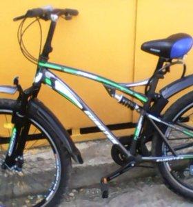 Горный крутой велоконь+тюнинг.