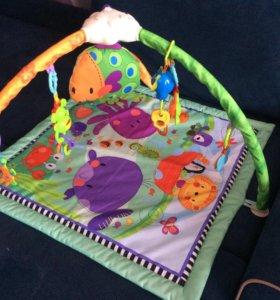 Развивающий коврик для малышей FitchBaby