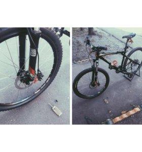 Ремонт велосипедов, велоремонт от