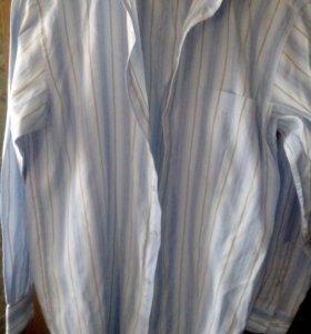 Рубашка 80%хлопок