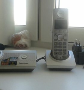Телефон с двумя трубками новый