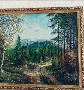 Продаётся картина-природа.