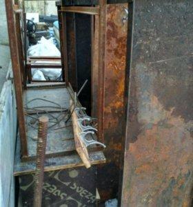 Стеллаж металлический для гаража