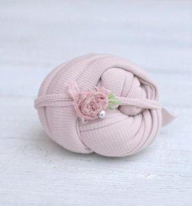Повязка на голову для фотосессии новорожденных