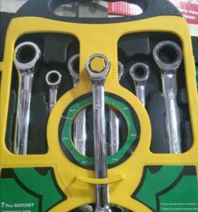 Новый набор ключей состоящий из 7 предметов.