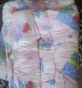 Детское одеяло и постельное белье