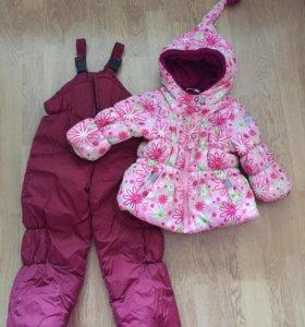 Комбинезон детский зимний. куртка+штаны зима