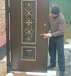 Установка входных дверей во Владикавказе
