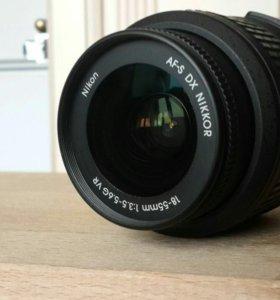 Nikon AF-S DX NIKKOR 18-55mm