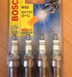 Свеча BOSCH super N02 WR 7 DC