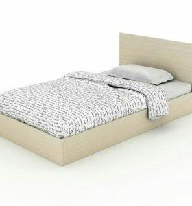 Кровать односпальная 80х200