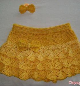 Юбки и платья детские
